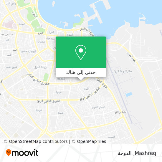 خريطة Mashreq