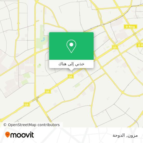 خريطة مزون