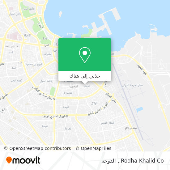 خريطة Rodha Khalid Co.