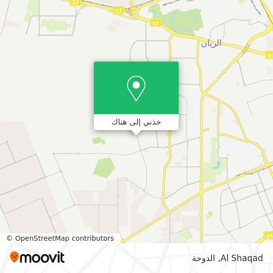 خريطة Al Shaqad