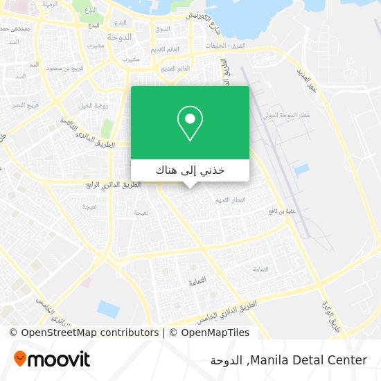 خريطة Manila Detal Center