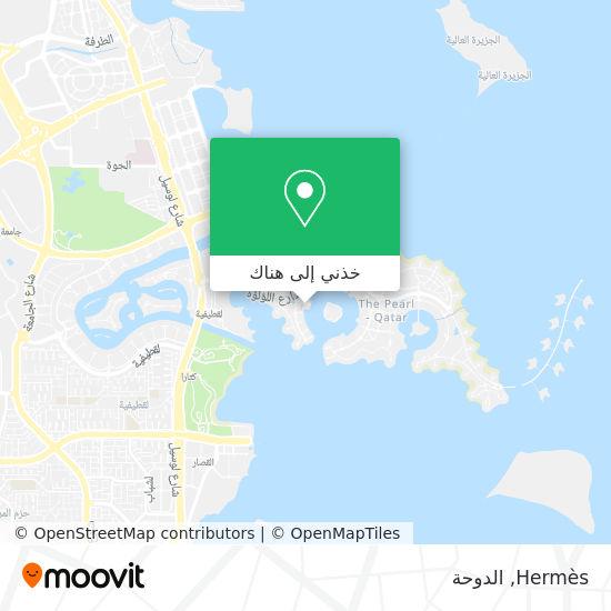 خريطة Hermes