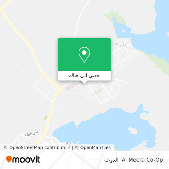 خريطة Al Meera Co-Op