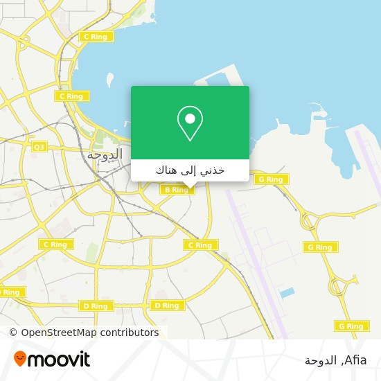 خريطة Afia