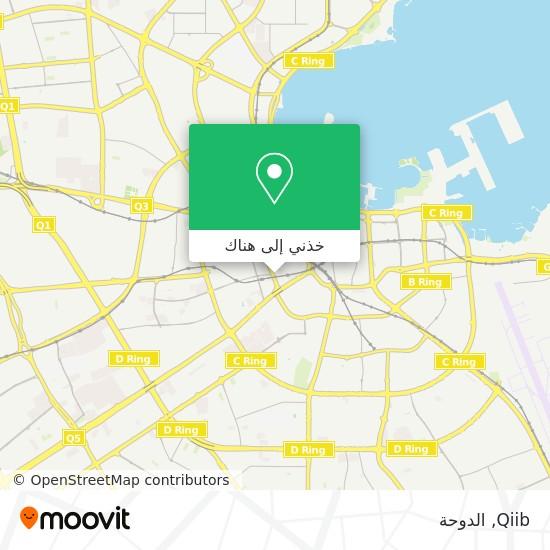 خريطة Qiib