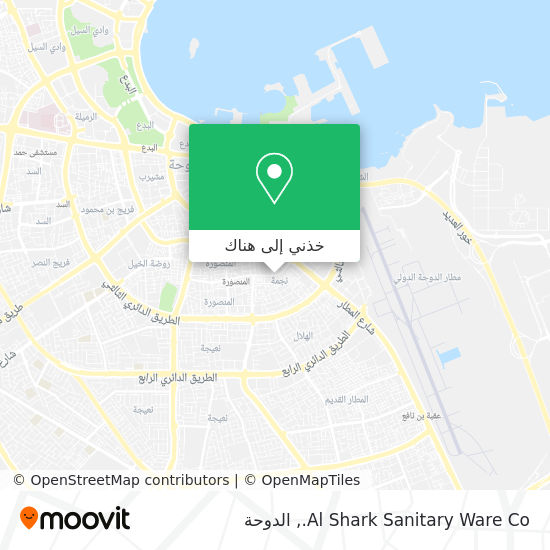خريطة Al Shark Sanitary Ware Co.