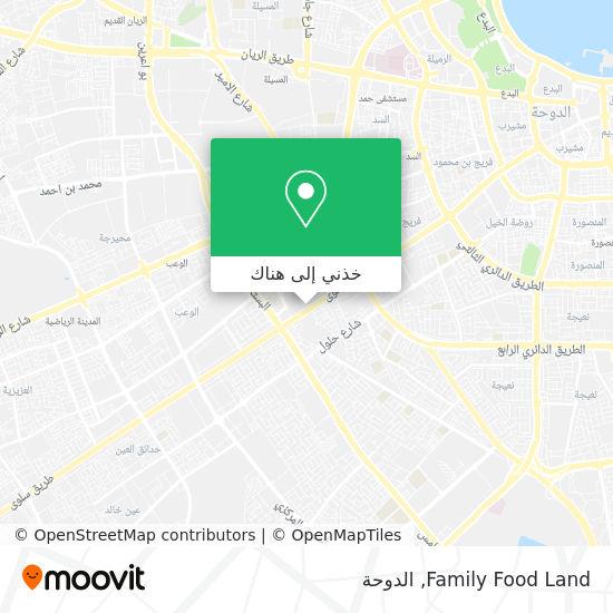 خريطة Family Food Land