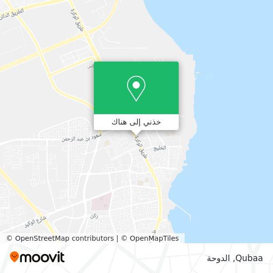 خريطة Qubaa