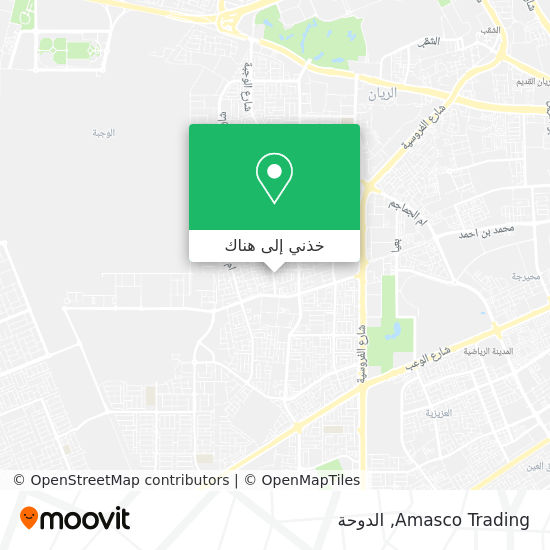 خريطة Amasco Trading