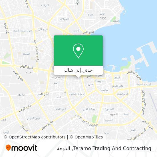 خريطة Teramo Trading And Contracting
