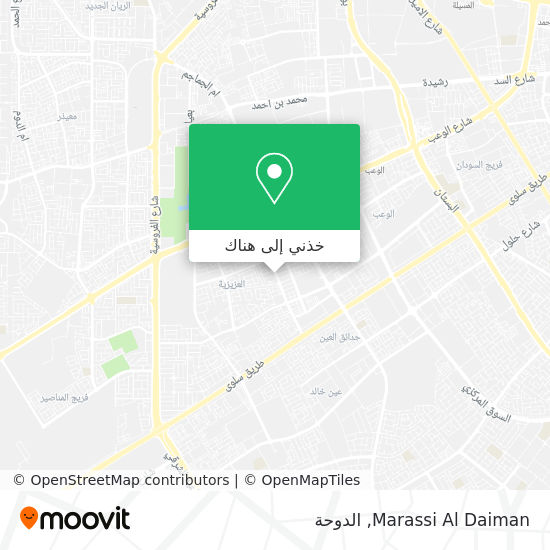 خريطة Marassi Al Daiman