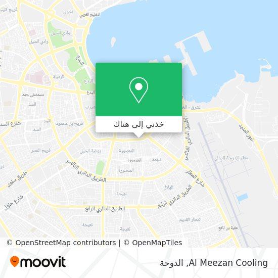 خريطة Al Meezan Cooling