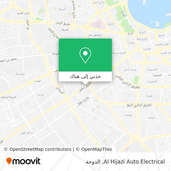 خريطة Al Hijazi Auto Electrical