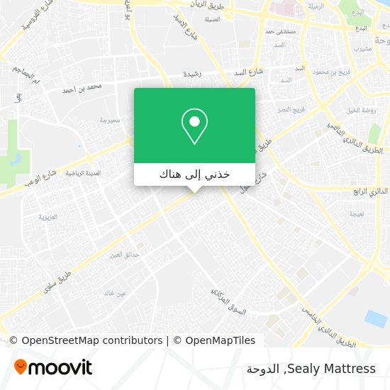 خريطة Sealy Mattress