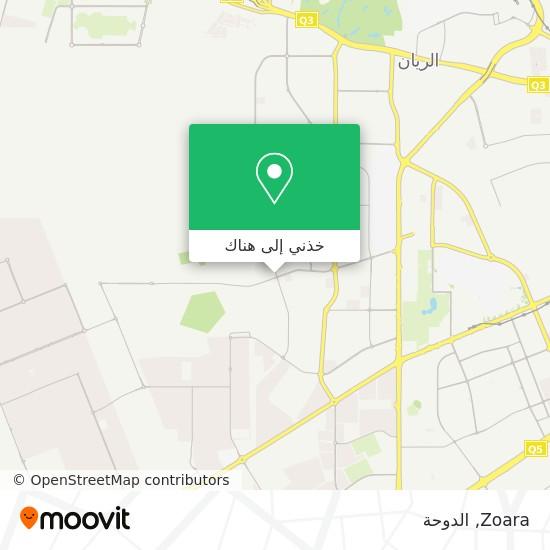خريطة Zoara