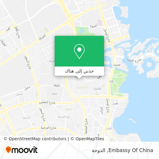 خريطة Embassy Of China