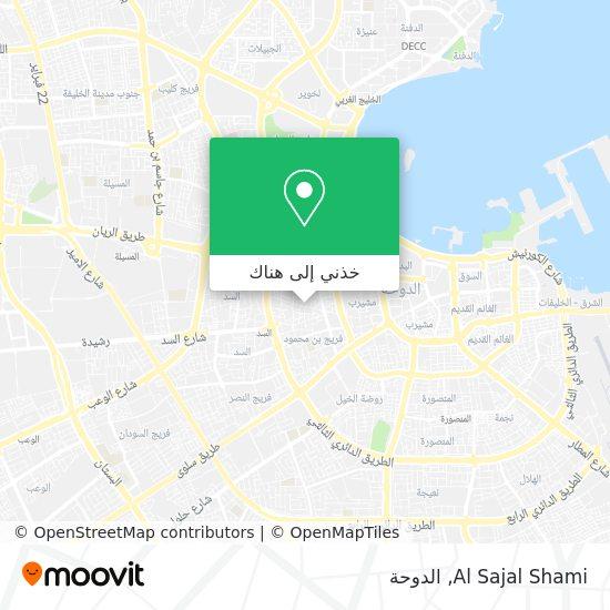 خريطة Al Sajal Shami