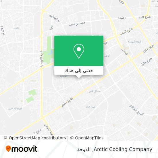 خريطة Arctic Cooling Company