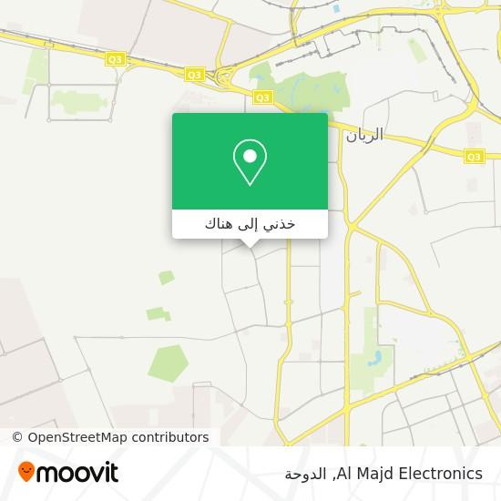 خريطة Al Majd Electronics