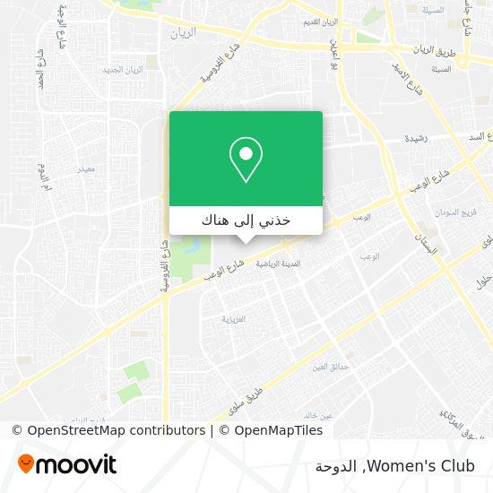 خريطة Women's Club