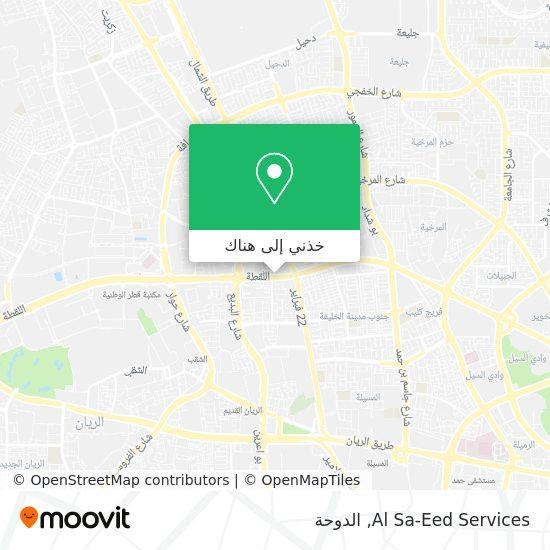 خريطة Al Sa-Eed Services