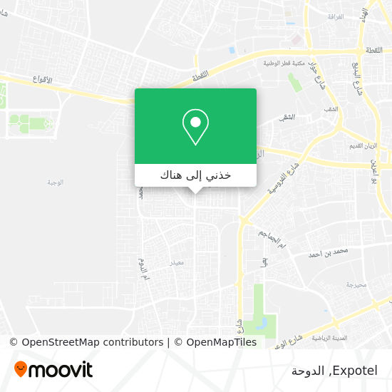 خريطة Expotel