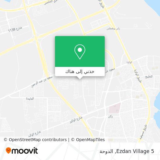 خريطة Ezdan Village 5