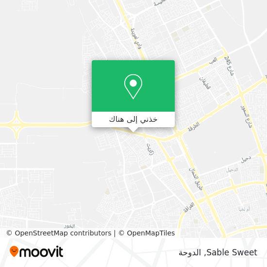 خريطة Sable Sweet