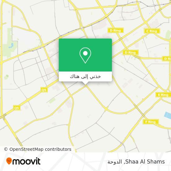 خريطة Shaa Al Shams