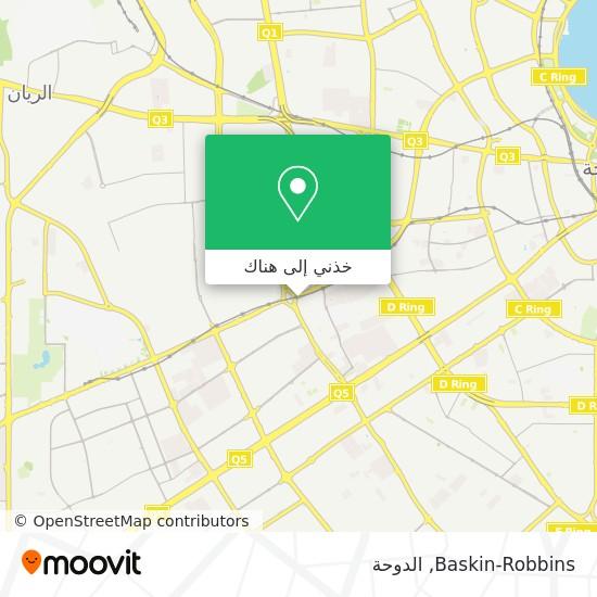 خريطة Baskin Robbins