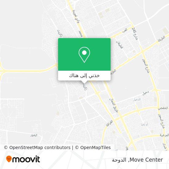 خريطة Move Center