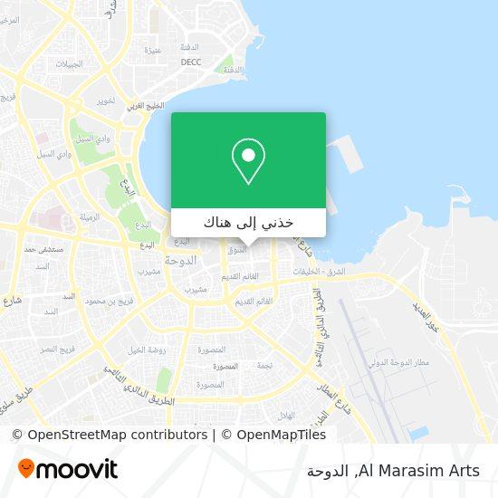 خريطة Al Marasim Arts