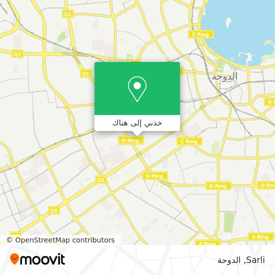 خريطة Sarli