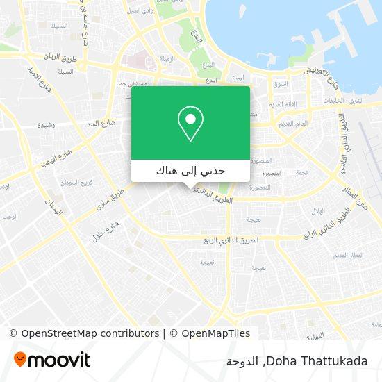 خريطة Doha Thattukada