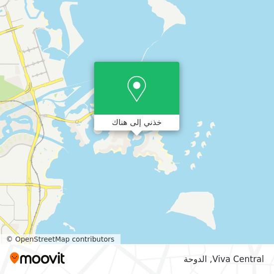 خريطة Viva Central