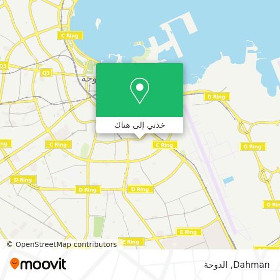 خريطة Dahman
