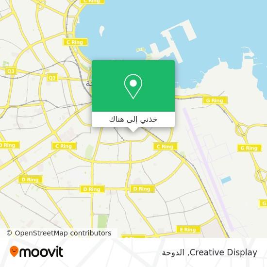 خريطة Creative Display