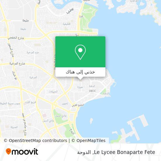 خريطة Le Lycee Bonaparte Fete