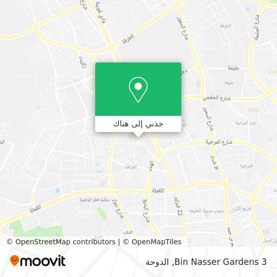 خريطة Bin Nasser Gardens 3