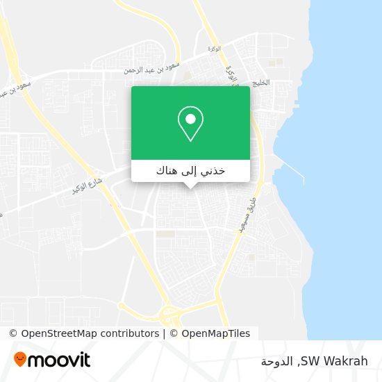 خريطة SW Wakrah