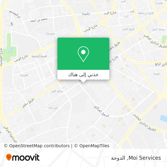 خريطة Moi Services