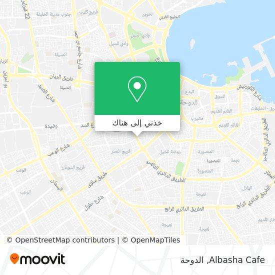 خريطة Albasha Cafe