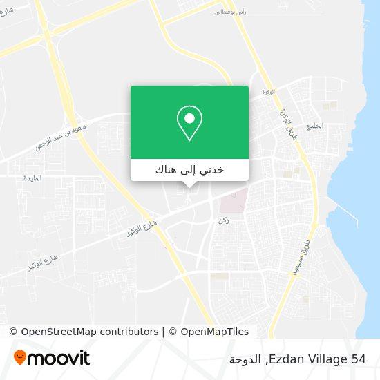 خريطة Ezdan Village 54