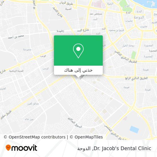 خريطة Dr. Jacob's Dental Clinic