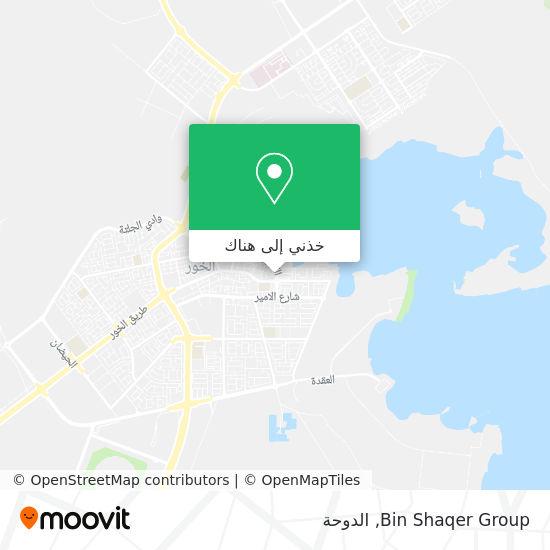 خريطة Bin Shaqer Group