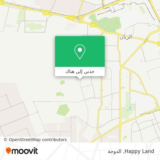 خريطة Happy Land
