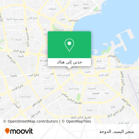 خريطة متجر البسه