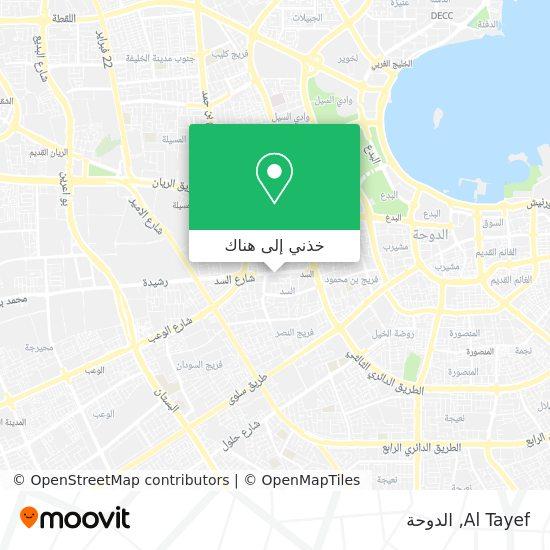 خريطة Al Tayef