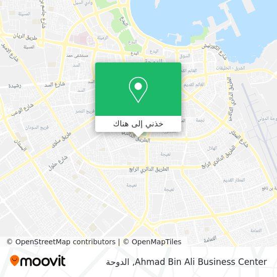خريطة Ahmad Bin Ali Business Center