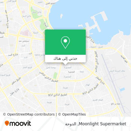 خريطة Moonlight Supermarket